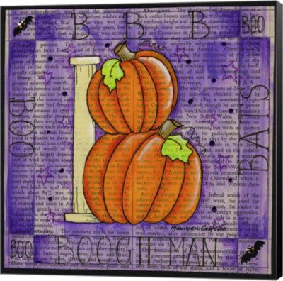 Metaverse Art Halloween B Museum Wrapped Canvas Wall Art