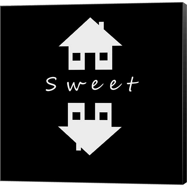 Metaverse Art Home Sweet Home Museum Wrapped Canvas Wall Art