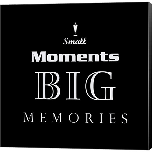 Metaverse Art Small Moments Museum Wrapped Canvas Wall Art