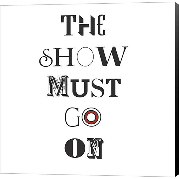 Metaverse Art The Show Must Go On Museum Wrapped Canvas Wall Art