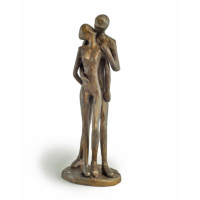 Danya B. Couple Kissing Bronze