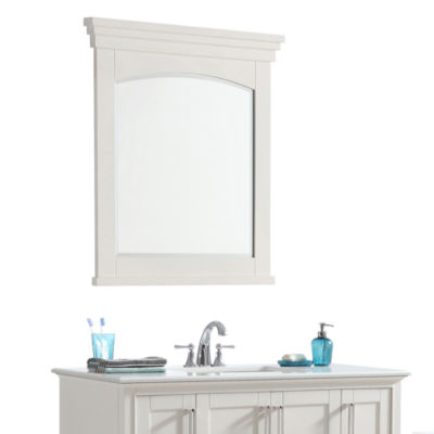 "Elise 30"" X 34"" Large Bath Vanity Décor Mirror"
