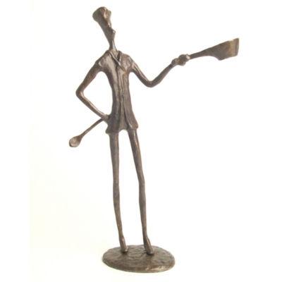 Danya B. Chef Bronze Sculpture