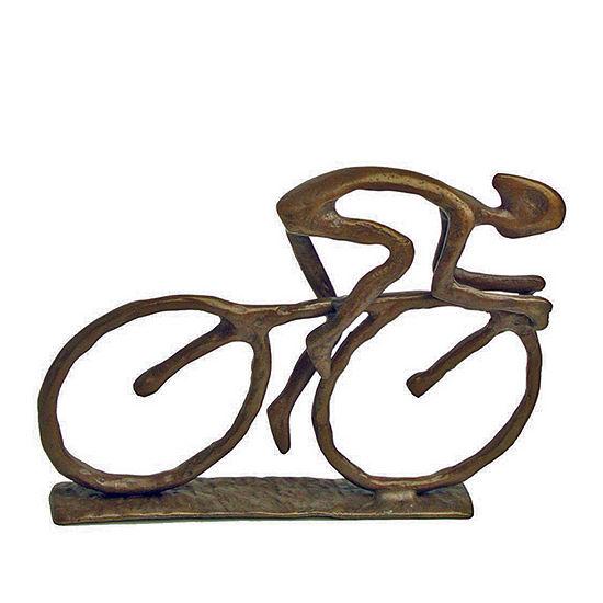 Danya B. Cyclist Cast Bronze