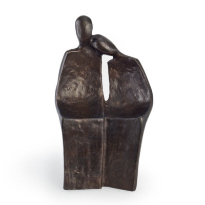 Danya B. Mini Couple Bronze Sculpture
