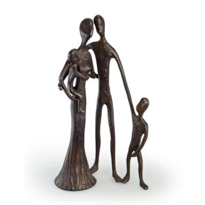 Danya B. Family of Four Cast Bronze