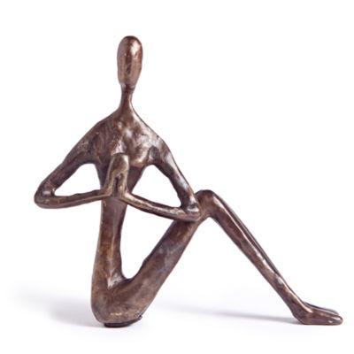 Danya B. Female Yoga Twist Sculpture