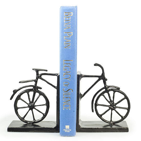 Danya B. Bicycle Iron Bookend Set