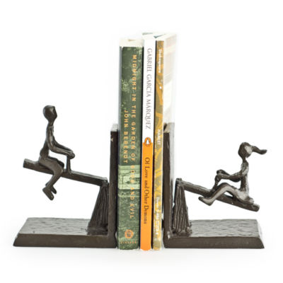 Danya B. See-Saw Metal Bookend Set