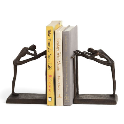 Danya B. Ballerina Stretch Metal Bookend Set