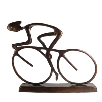 Danya B. Large Cyclist Sculpture