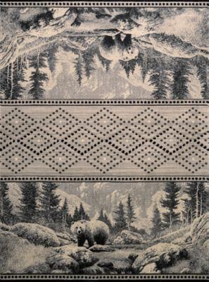 United Weavers Contours Carleo Entertainment Management Collection Sedona Bear Rectangular Rug