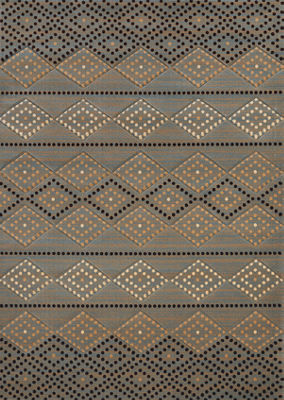 United Weavers Contours Carleo Entertainment Management Collection Sedona Diamond Rectangular Rug