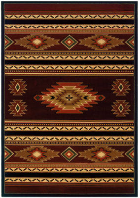 United Weavers Contours Carleo Entertainment Management Collection Soaring Diamond Rectangular Rug