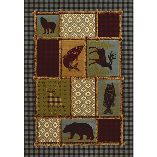 United Weavers Contours Carleo Entertainment Management Collection Acadia Park Rectangular Rug