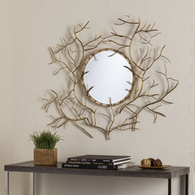 Southern Enterprises Branch Wall Mirror