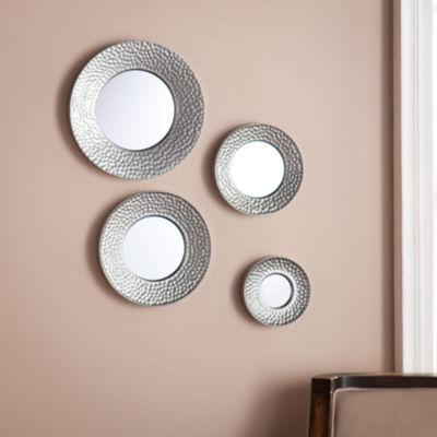 Southern Enterprises Silver Sphere Wall 4-pc. Wall Mirror