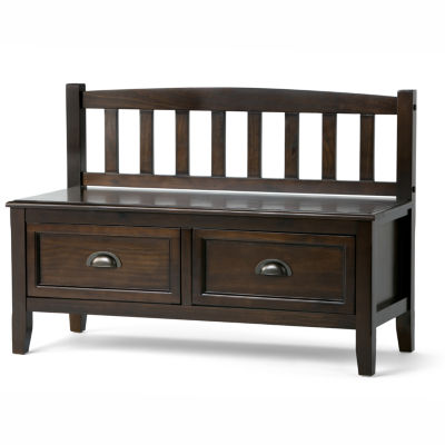 Burlington Entryway Storage Bench With Drawers