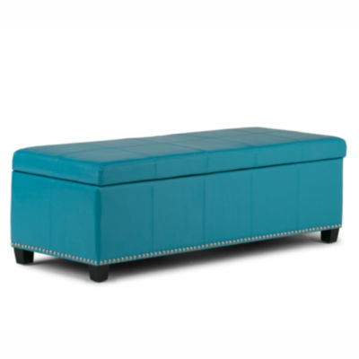 Kingsley Large Storage Ottoman Bench
