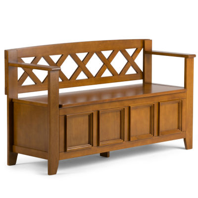 Amherst Entryway Storage Bench