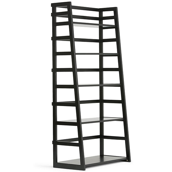 Acadian Ladder Shelf Bookcase