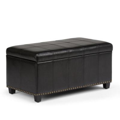 Amelia Storage Ottoman Bench