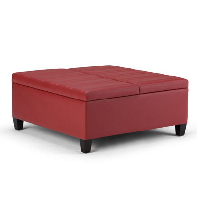 Ellis Coffee Table Storage Ottoman