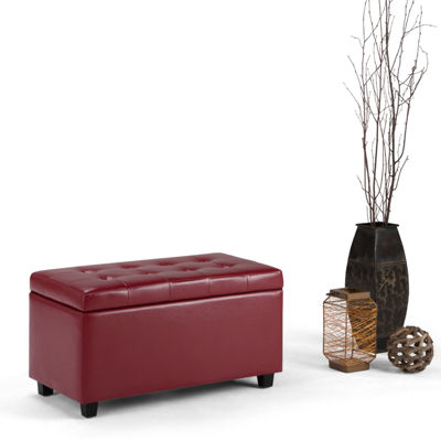 Cosmopolitan Medium Storage Ottoman Bench