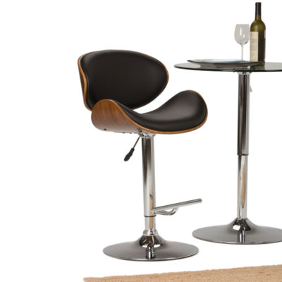 """Marana Bentwood Gas Lift Bar Stool"
