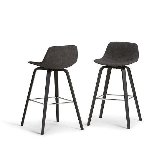 Surprising Randolph 30 Inch Bentwood Bar Stool Set Of 2 Ibusinesslaw Wood Chair Design Ideas Ibusinesslaworg
