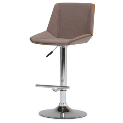 """Tollson Bentwood Gas Lift Bar Stool"