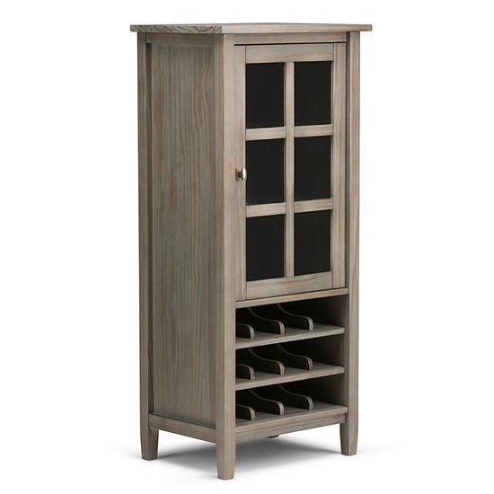 """Warm Shaker High Storage Wine Rack"