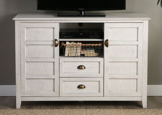 "Angelo Home Wood 52"" Rustic Chic TV Console"""