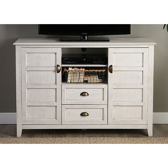 """Angelo Home Wood 52"""" Rustic Chic TV Console"""