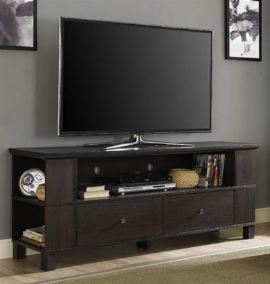 "60"" Wood TV Media Stand Storage Console"""