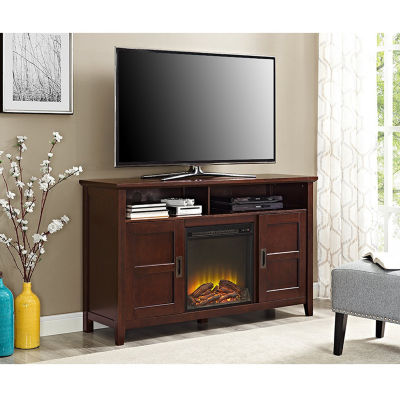 "52"" Rustic Chic Fireplace TV Stand"