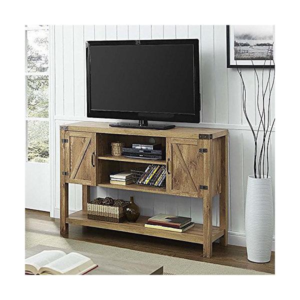 Barn Door Buffet Table Console TV Stand JCPenney - Buffet tv