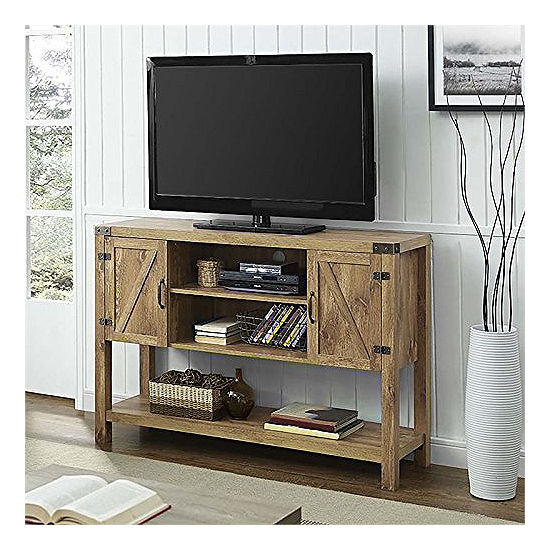 52 Barn Door Buffet Table Console Tv Stand