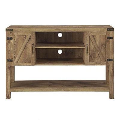 "52"" Barn Door Buffet Table Console TV Stand"""
