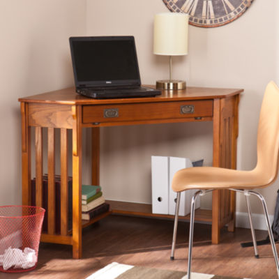 Modern Life Furniture Riley Corner Computer Desk