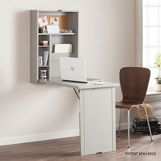 Modern Life Furniture Fold-Out Convertible Wall Mount Desk