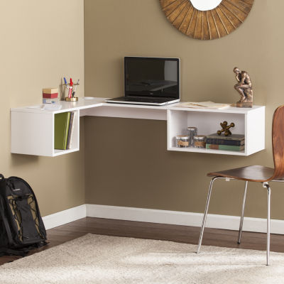 Modern Life Furniture Wall Mount Corner Desk