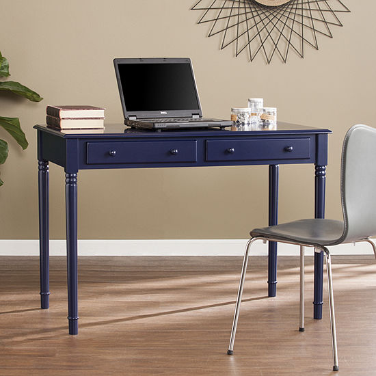 Southlake Furniture Ryan Farmhouse 2-Drawer Writing Desk