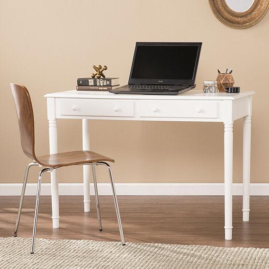 Southlake Furniture Nora Writing 2-Drawer Desk