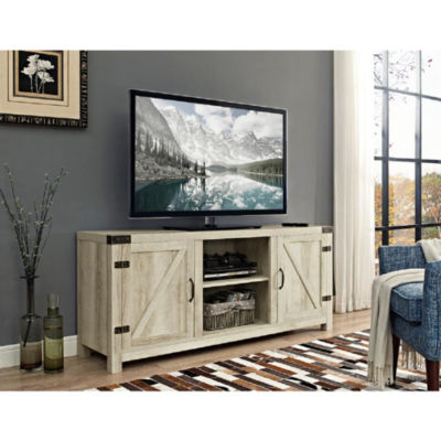 58  Barn Door TV Stand with Side Doors  sc 1 st  JCPenney & 58