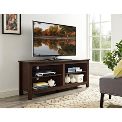"58"" Wood TV Media Stand Storage Console"