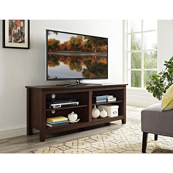 58IN Wood TV Storage Console