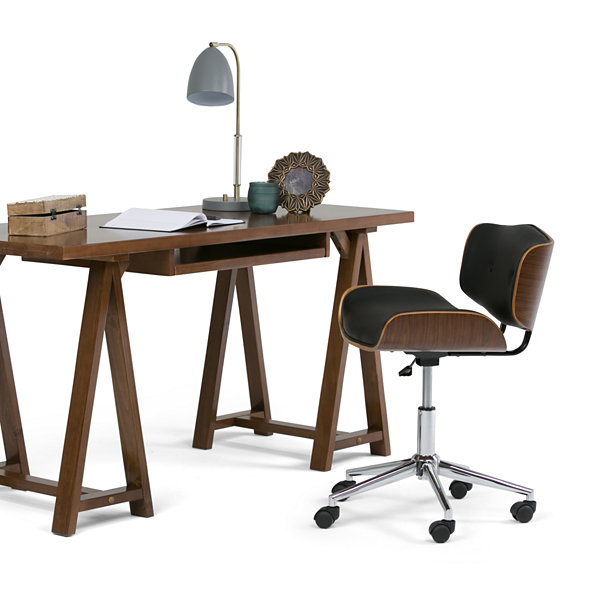 Dax Bentwood Adjustable Height Office Chair
