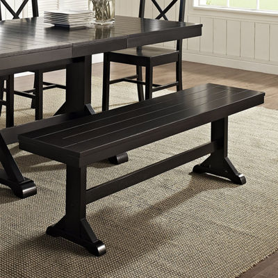 "60"" Wood Kichen Dining Bench"