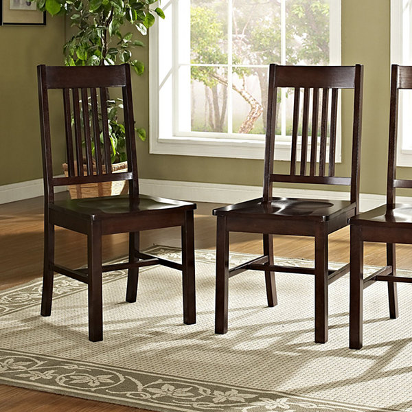 2-pc. Wood Dining Kitchen Chairs